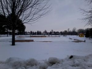 Skating Rink at Paget Park