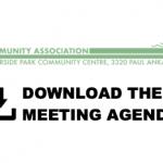 Oct. 7, 2020: AGM Agenda