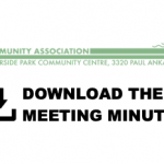 Oct. 7, 2020: AGM Minutes