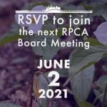 June 2, 2021: Board of Directors Meeting