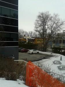 Demolition starts on older St. Pats building 2014-04-01