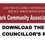 Oct. 7, 2020: Councillor's Report