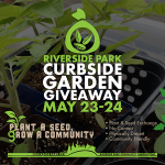 May 23-24, 2020: Curbside Garden Giveaway