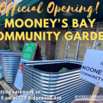 July 13, 2020: Grand Opening of Mooney's Bay Community Garden